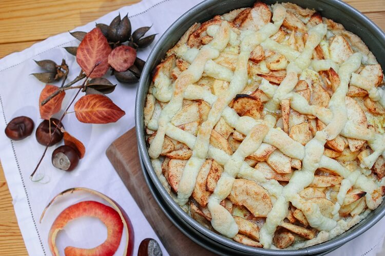 Der beste Apfelkuchen der Welt oder der beste Apfelkuchen der Welt