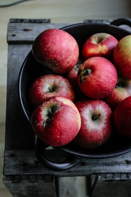 Welche Äpfel für Apfelkuchen - Boskop