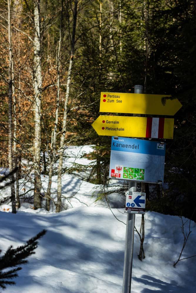 Winterwanderweg Achensee