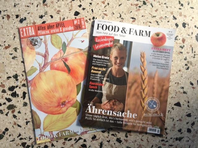 Die Zeitschrift Food & Farm – Vom Feld auf den Teller oder wie ich zu meinem eigenen italienischen Wasserbüffel komme