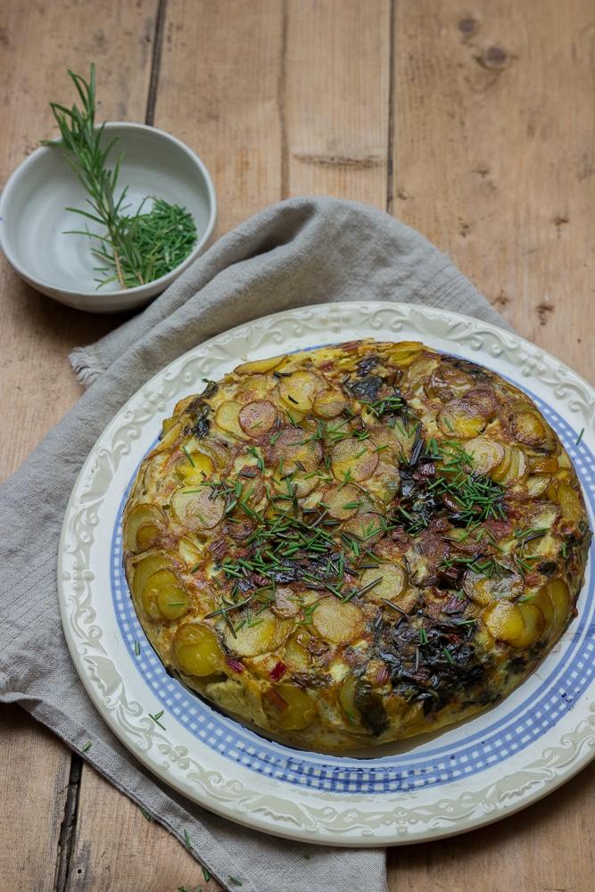 Mangold-Frittata oder Barbara Bonisollis neues Kochbuch