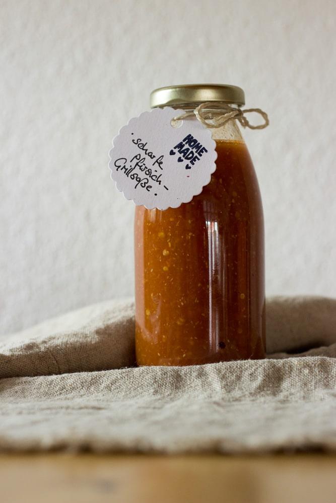 selbstgemachter Aprikosenketchup von lenasfoodforfriends