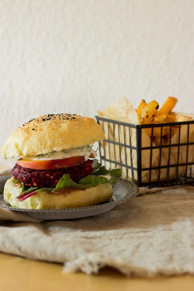 Rote-Bete-Hamburger von lenasfoodforfriends