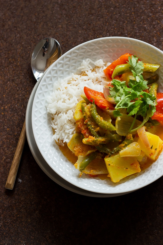 Rotes Curry rezept aus Kambodscha