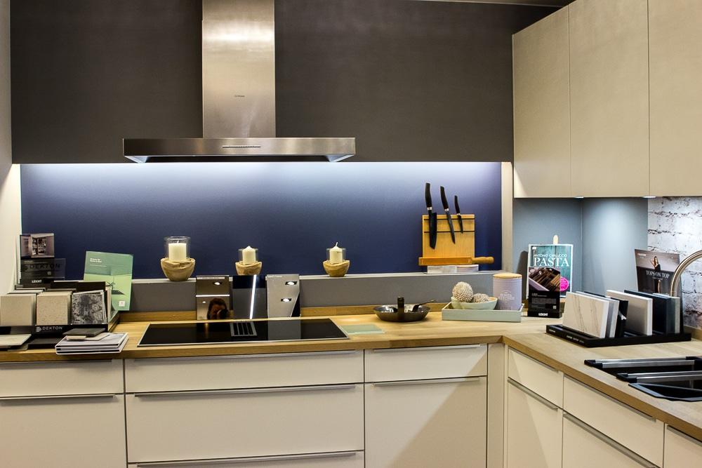 Tolle Desohnküche von Siematic im Küchenhaus Frankfurt Süd