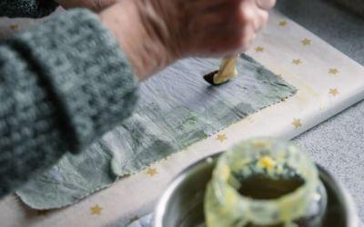 Bienenwachstücher selber machen – Meal Prep nachhaltig verpacken