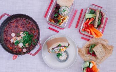 Vorkochen für eine Woche: Meal Prep mit Rote Bete