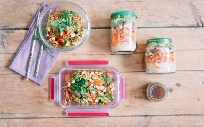 Rezepte vorkochen – mit einer Suppe im Glas und Pad Thai