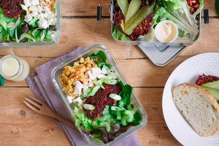Gesund Kochen für 2 Tage - mit Meal Prep das Vorkochen erleichtern