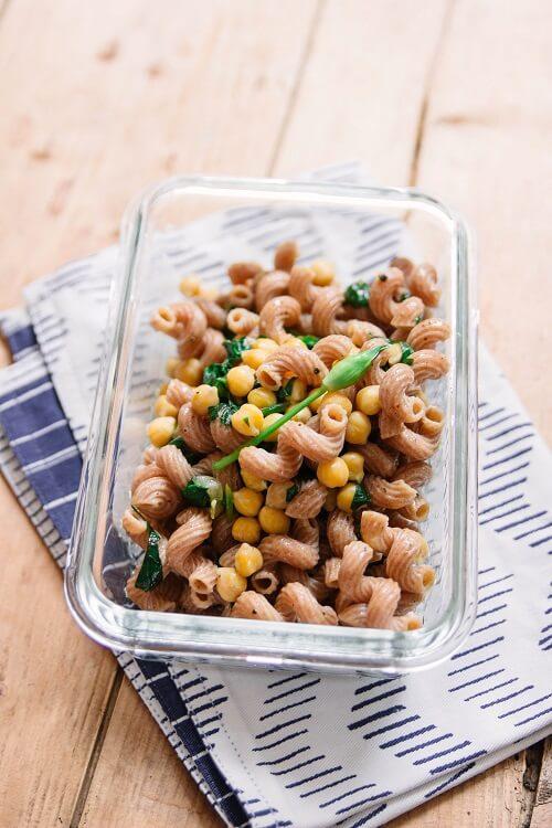Bärlauch Saison mit leckeren Bärlauch Rezepten -Chili con Carne und Pasta e ceci