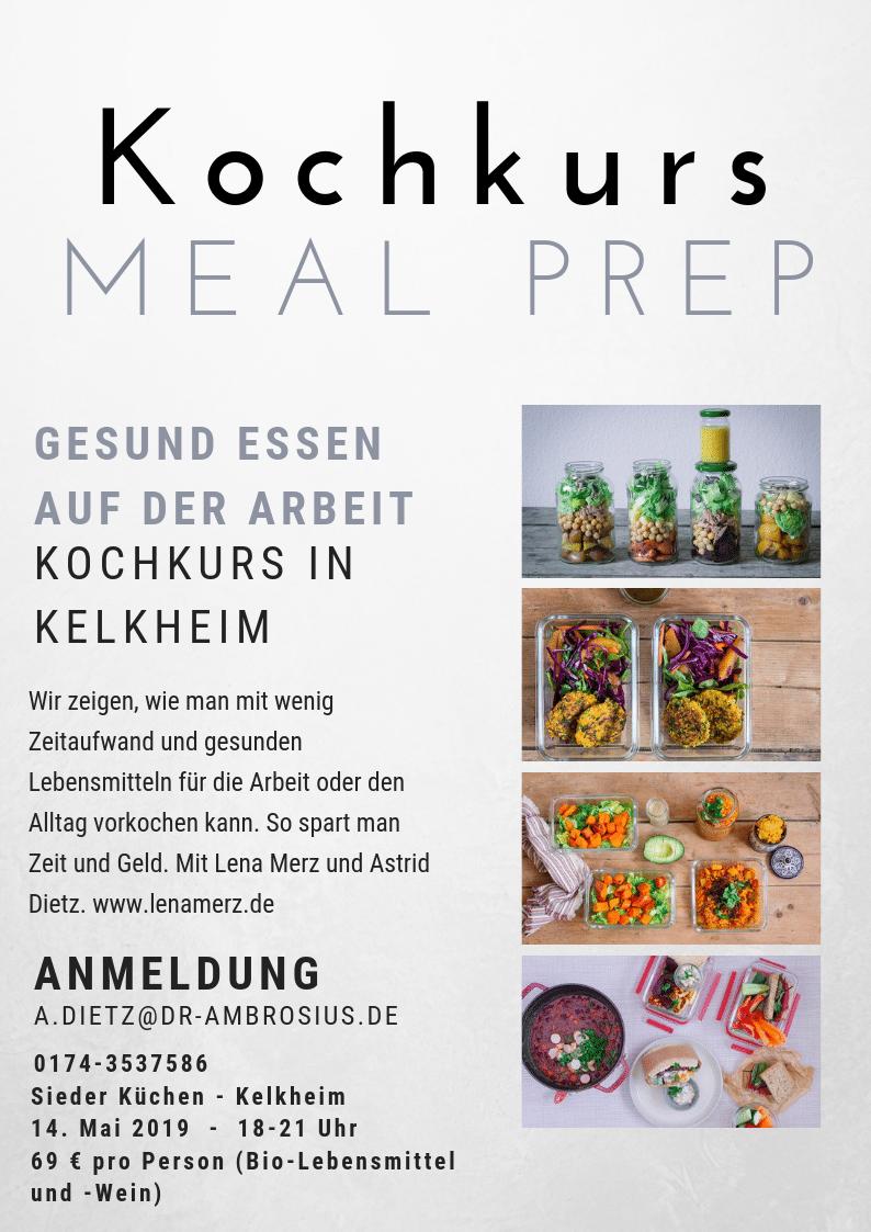 Meal Prep Kochkurs