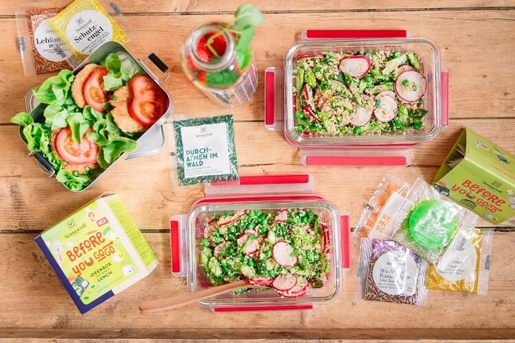[Anzeige] Gesundes Mittagessen zum Mitnehmen: 4 Mahlzeiten mit den SONNENTOR Gewürzen