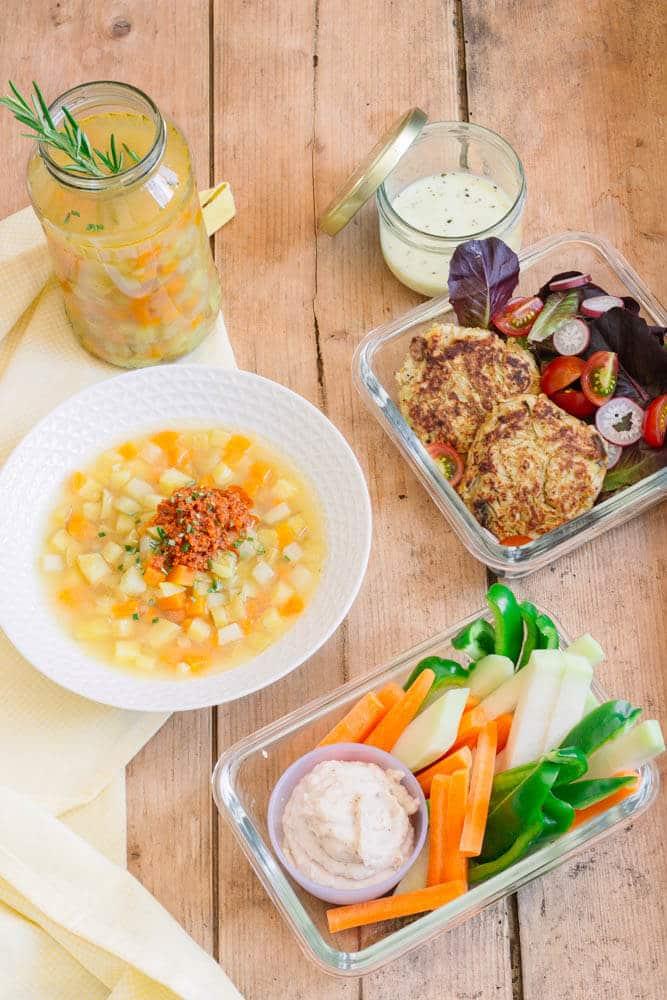 Food Prep im Sommer - gesund und lecker