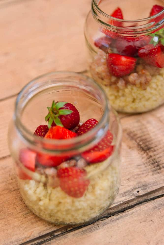 Meal Prep vegetarisch auch als Frühstück