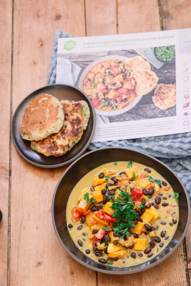 Vegetarisch vorkochen für die Woche mit HelloFresh