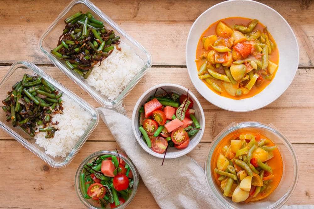 Meal Prep vegan – leckere Rezept für 6 Tage