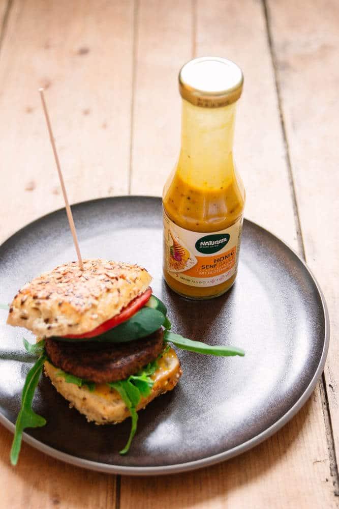 Burger vom Grill - vegetarisch und lecker