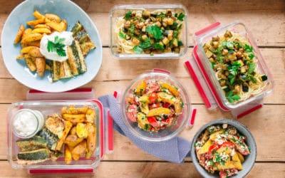 Meal Prep Gerichte für die ganze Familie – das Beste aus Zucchini, Kartoffeln und Tomaten