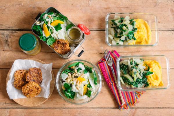 Vorkochen für die Woche mit einem Meal-Prep-Plan