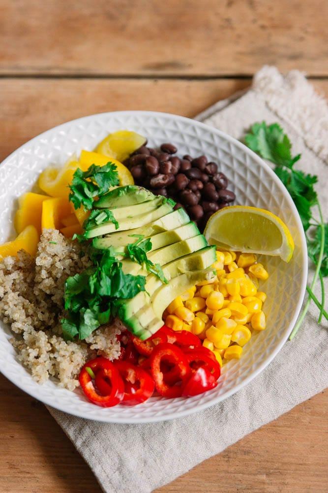Meal Prep vegan mit einer leckeren Buddha Bowl
