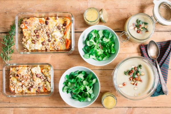 Gesundes Essen vorbereiten - Meal Prep mit Wintergemüse
