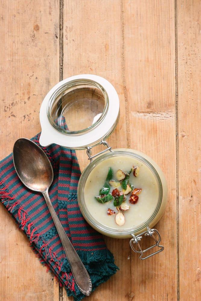 Gesundes Essen vorbereiten - Meal Prep Suppe