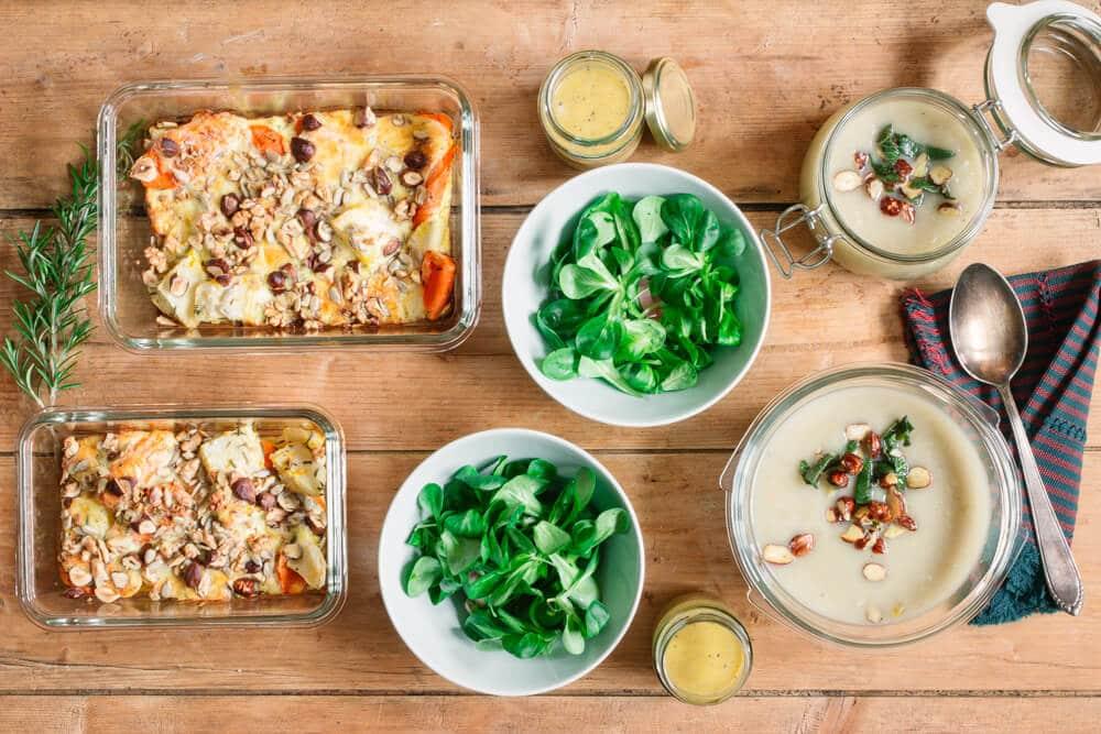 Gesundes Essen vorbereiten - Meal prep