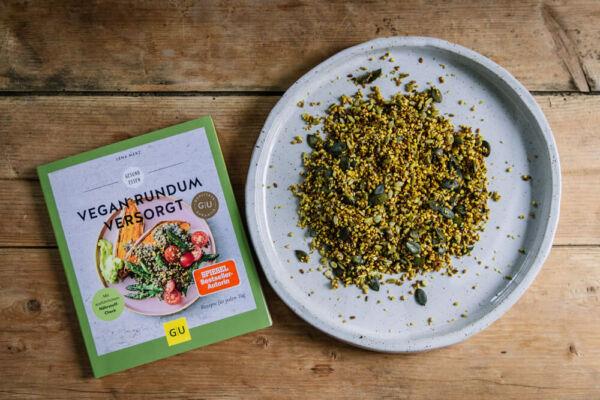 Herzhaftes Granola selbst machen - vegan