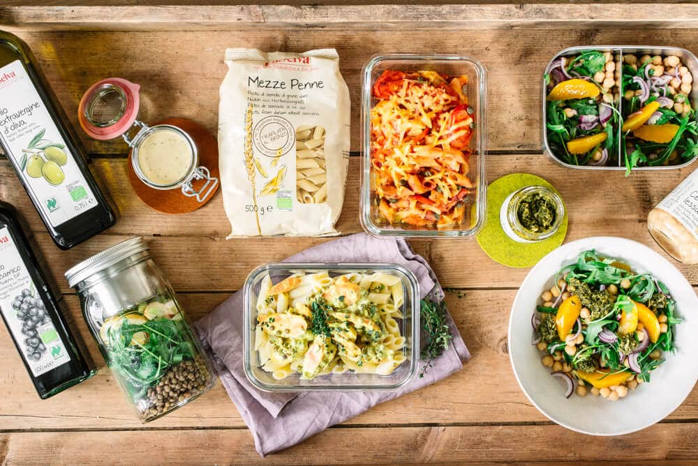 SChnelle Mittagessen im Homeoffice - gesund kochen